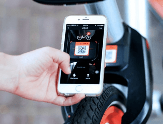 qr mobike chinese app