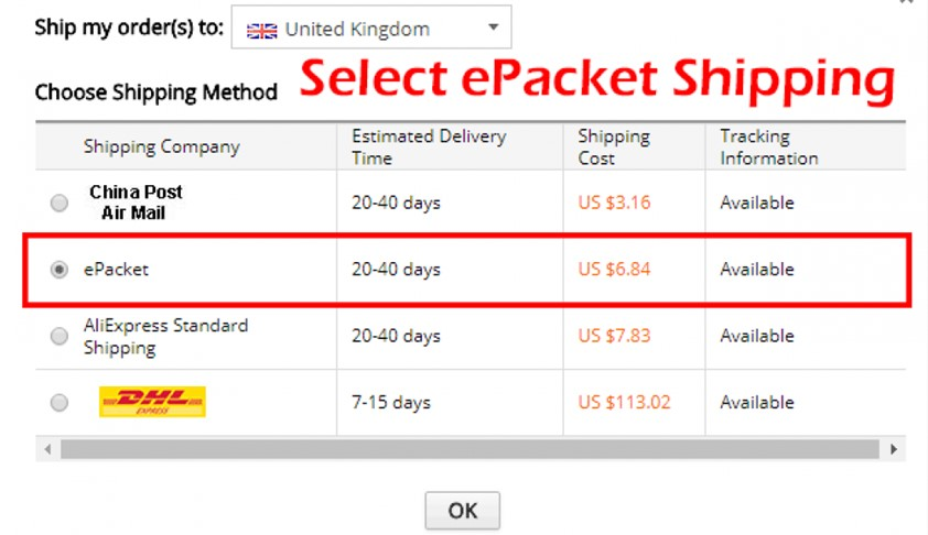 Look-For-the-E-Packet-Shipping-Option