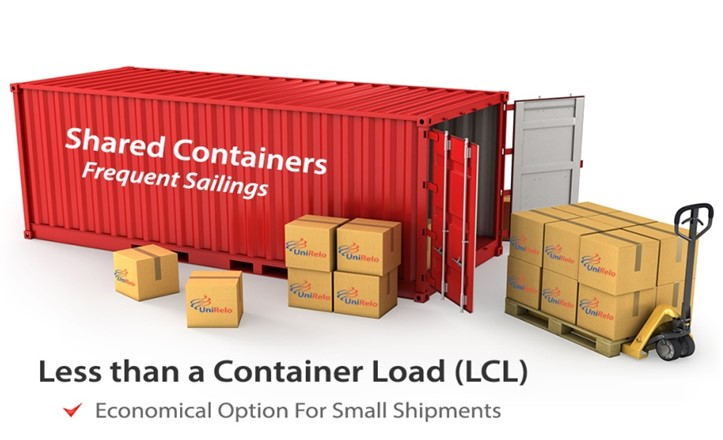 lcl-shipment-container