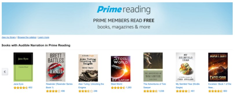 Download a new book every month