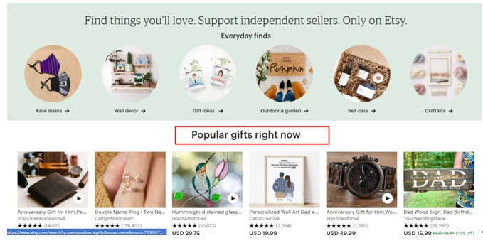 Popular Gifts right now