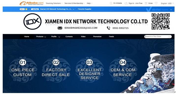 Xiamen-IDX-Network-Technology-Co