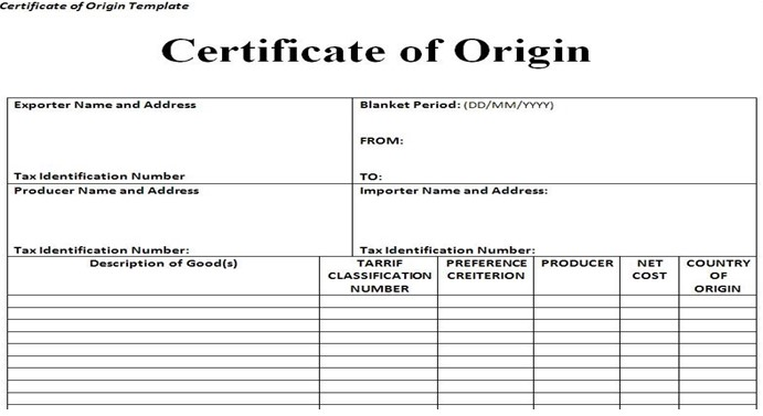 certificate-of-Origin-for-Import-duty-from-China-to-Australia