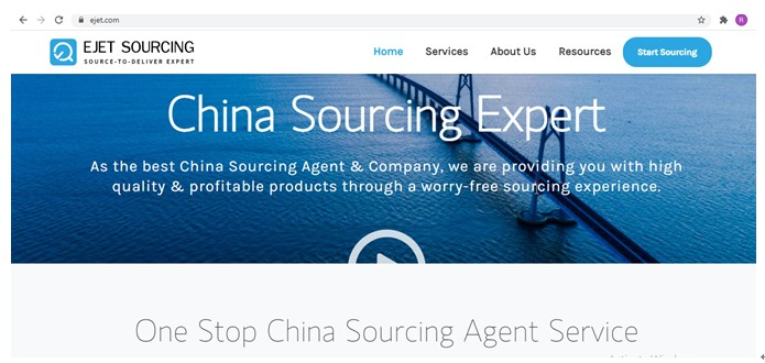find the Chinese supplier on sourcing websites