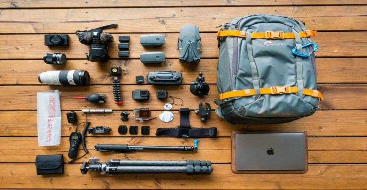 Products for travelers and content creators