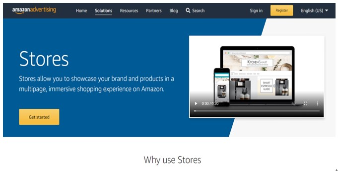 Building your own store within Amazon store
