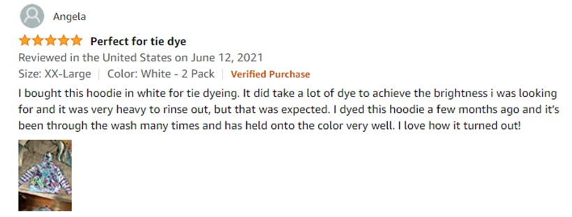 Customer Review 21