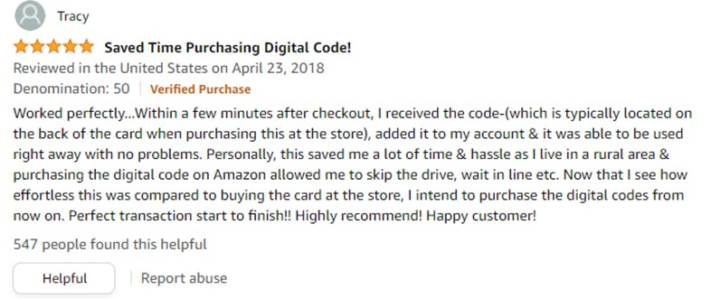 Customer Review15