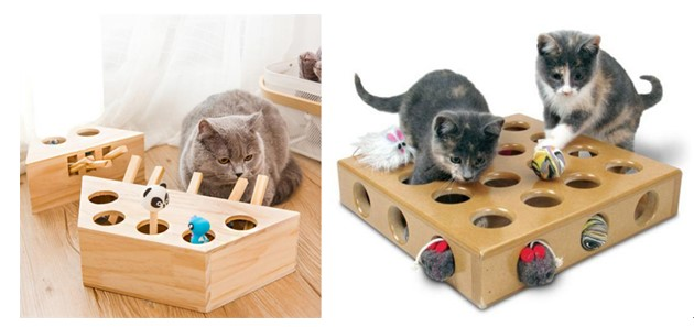Treat and Puzzle pet toys